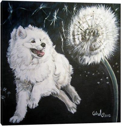 Playful Pup XII Canvas Art Print