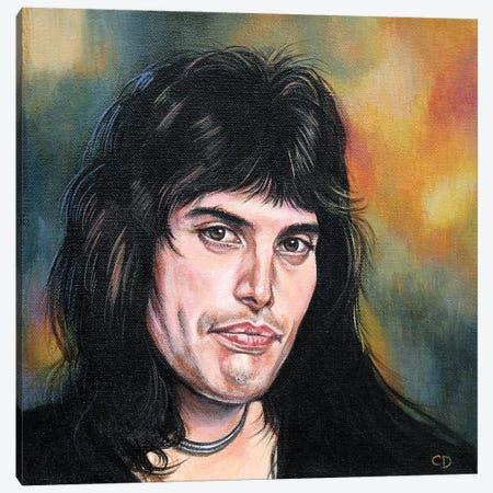Freddie Mercury Canvas Print #CDO12} by Cyndi Dodes Canvas Wall Art