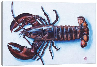 Larry The Lobster Canvas Art Print
