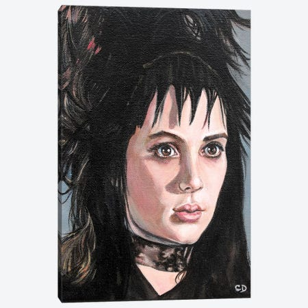 Lydia Deetz Canvas Print #CDO18} by Cyndi Dodes Canvas Wall Art