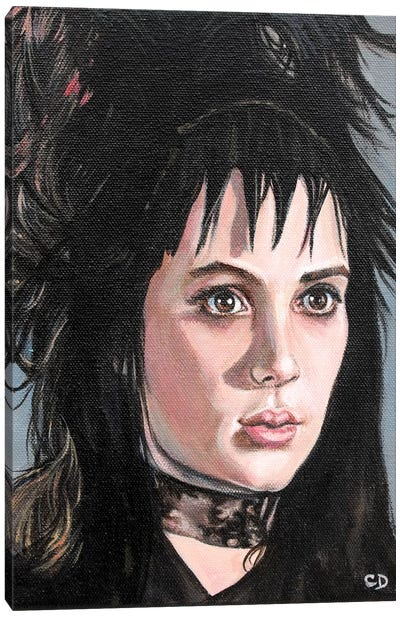 Lydia Deetz Canvas Art Print