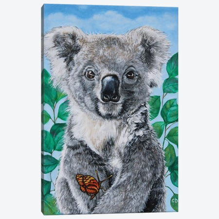 Koala Canvas Print #CDO36} by Cyndi Dodes Canvas Print