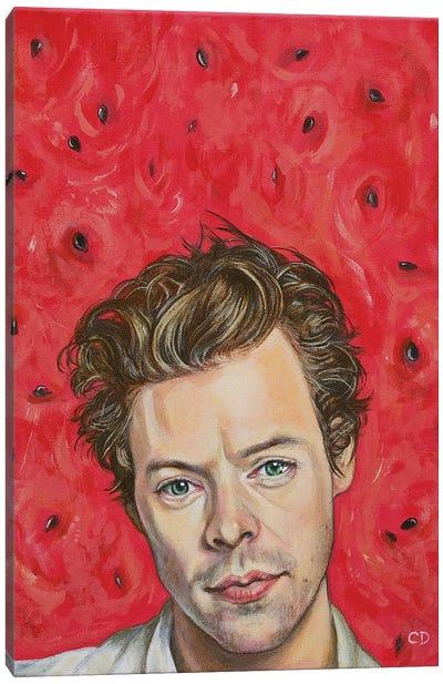Harry Styles Portrait Canvas Art Print