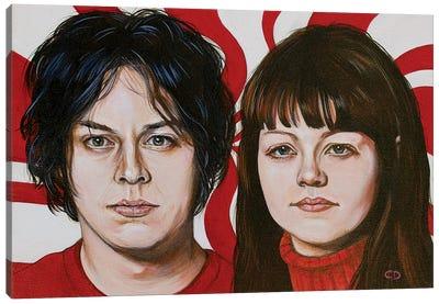 The White Stripes Canvas Art Print