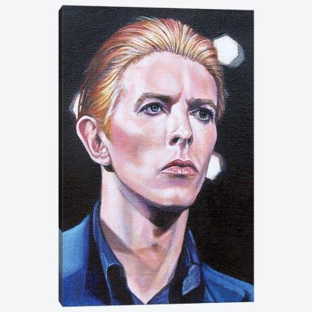 David Bowie Canvas Print #CDO7} by Cyndi Dodes Art Print