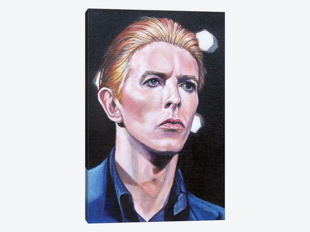 David Bowie by Cyndi Dodes 1-piece Canvas Art