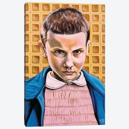 Eleven Canvas Print #CDO8} by Cyndi Dodes Canvas Wall Art