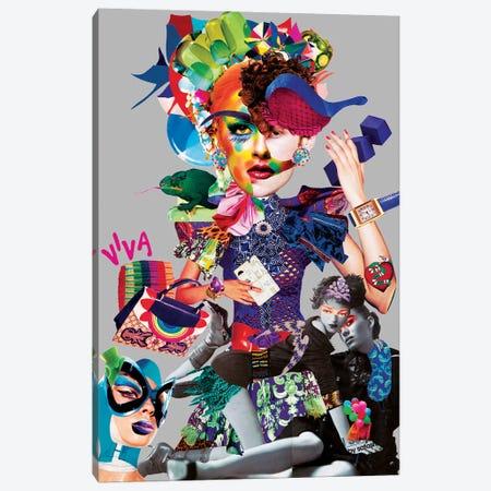 Arlequin Canvas Print #CDP1} by Corentin de Penanster Canvas Artwork