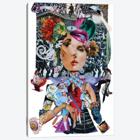 Double Face Canvas Print #CDP3} by Corentin de Penanster Canvas Wall Art