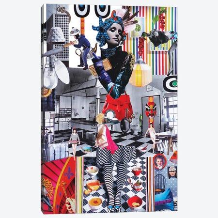 Femme Active Canvas Print #CDP5} by Corentin de Penanster Canvas Print