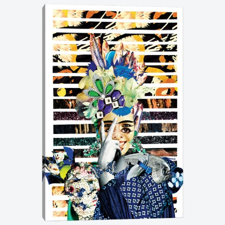 Frida Pescadora Canvas Print #CDP7} by Corentin de Penanster Canvas Print