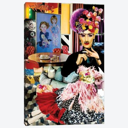 Frida Pija Canvas Print #CDP8} by Corentin de Penanster Canvas Artwork