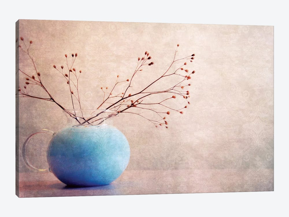Blue Water by Claudia Drossert 1-piece Canvas Art