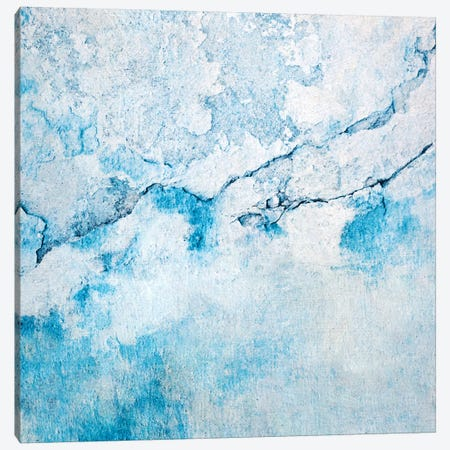 Blue Wall Canvas Print #CDR111} by Claudia Drossert Canvas Print
