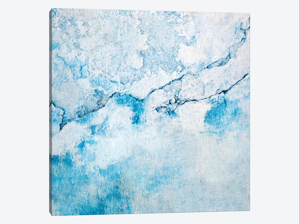 Blue Wall by Claudia Drossert 1-piece Art Print