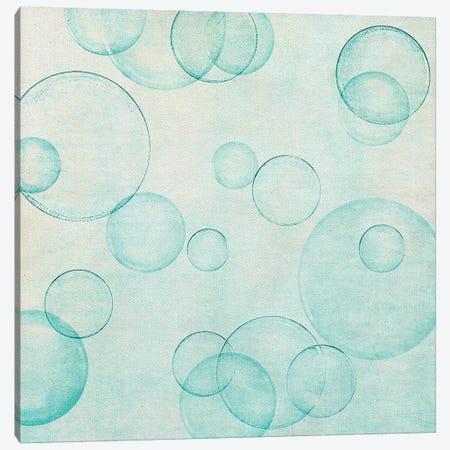 Happy Bubble Canvas Print #CDR139} by Claudia Drossert Canvas Art Print