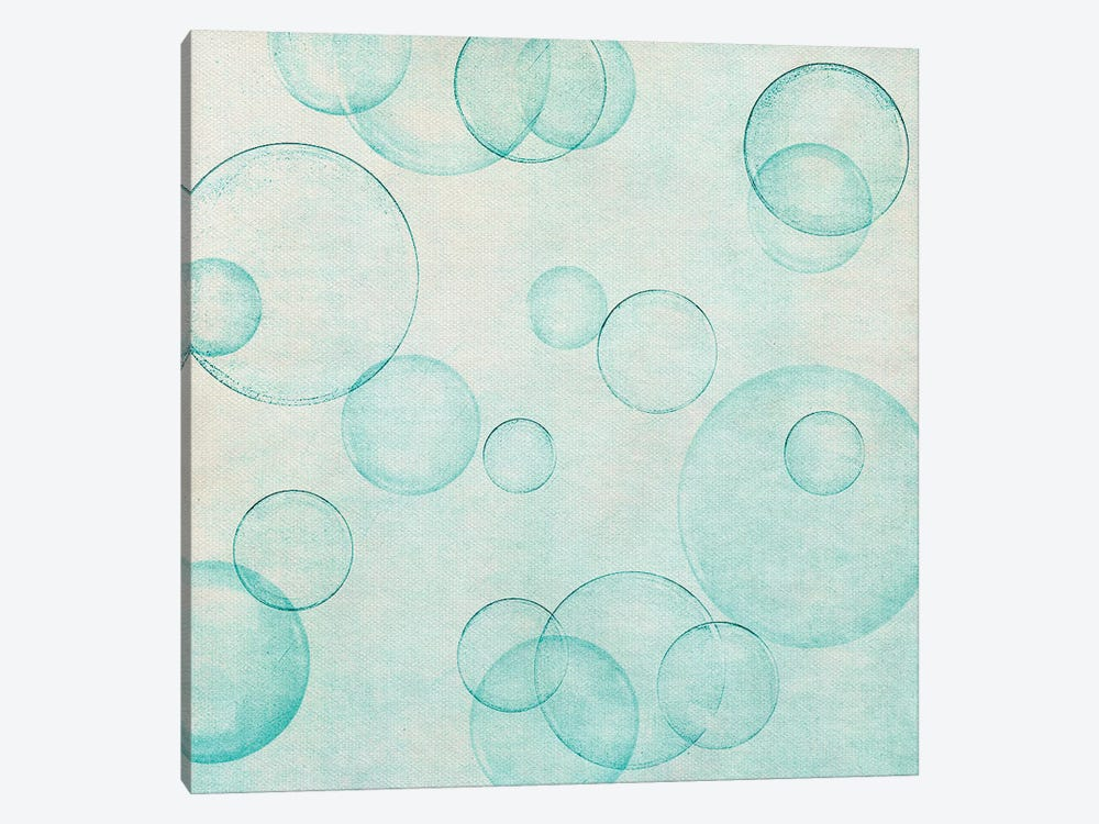 Happy Bubble by Claudia Drossert 1-piece Canvas Print