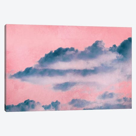 Rosa Clouds Canvas Print #CDR151} by Claudia Drossert Canvas Print