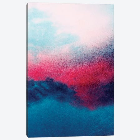 Darkblue Canvas Print #CDR175} by Claudia Drossert Canvas Artwork