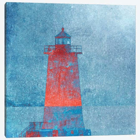 Lighthouse Canvas Print #CDR183} by Claudia Drossert Canvas Wall Art