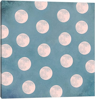 Mond II Canvas Art Print