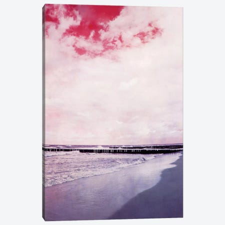 Strand Canvas Print #CDR68} by Claudia Drossert Canvas Wall Art