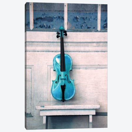 Violin Canvas Print #CDR75} by Claudia Drossert Canvas Art