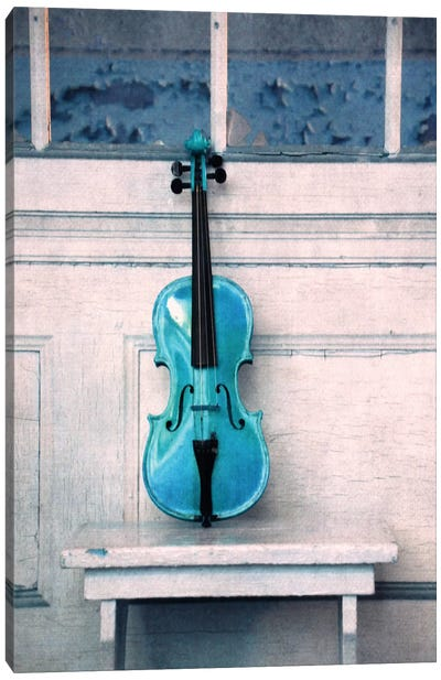 Violin Canvas Art Print