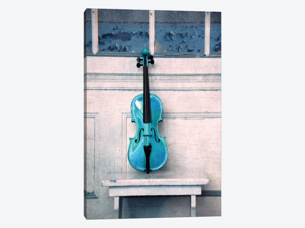 Violin by Claudia Drossert 1-piece Canvas Print