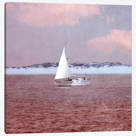 Sail Canvas Print #CDR96} by Claudia Drossert Canvas Artwork