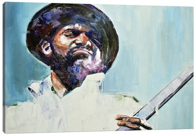 Gary Clark Jr Canvas Art Print