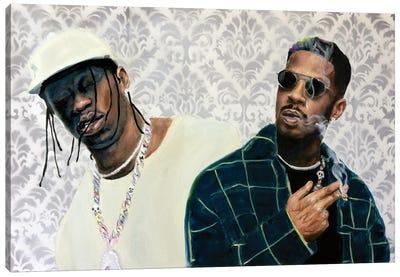 The Scotts: Travis Scott & Kid Cudi Canvas Art Print