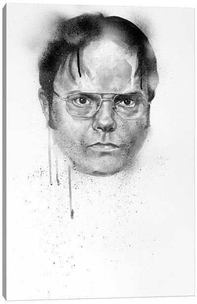 Dwight Schrute Canvas Art Print