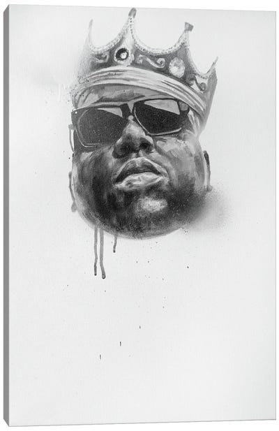 The Notorious B.I.G. Canvas Art Print