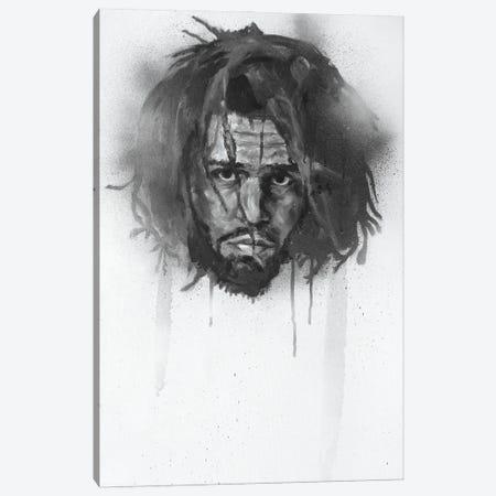 J. Cole Canvas Print #CDS28} by Cody Senn Canvas Print