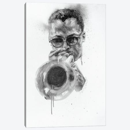 Miles Davis Canvas Print #CDS30} by Cody Senn Canvas Wall Art