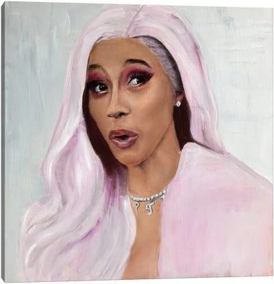 Cardi B Canvas Art Print