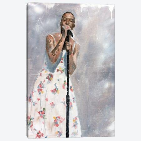 Kid Cudi SNL Dress Canvas Print #CDS37} by Cody Senn Art Print