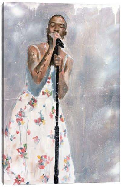 Kid Cudi SNL Dress Canvas Art Print