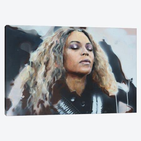 Beyonce Canvas Print #CDS41} by Cody Senn Canvas Print