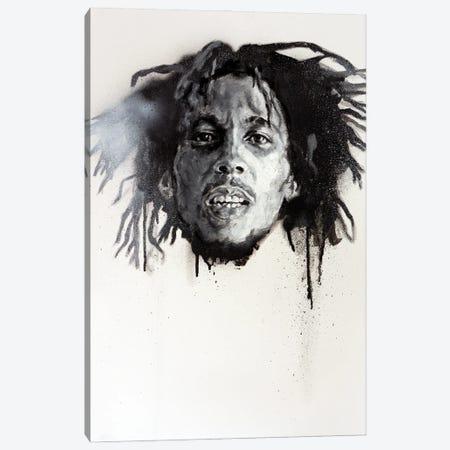 Bob Marley Canvas Print #CDS4} by Cody Senn Canvas Art