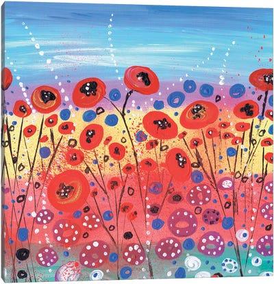 Blooms In Summer Canvas Art Print