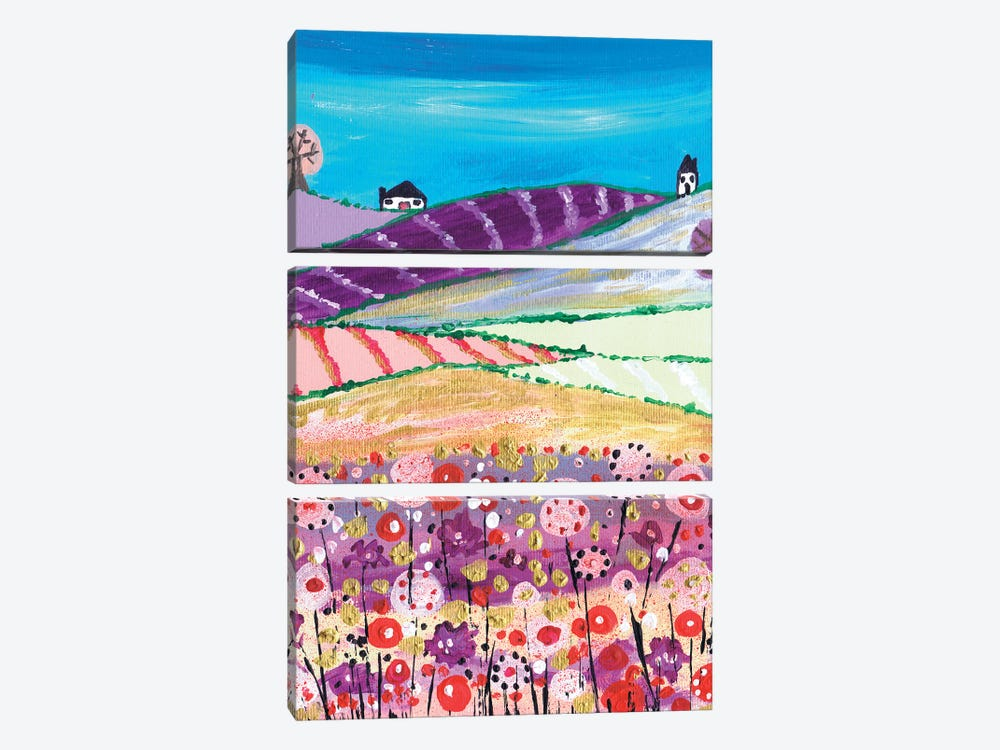 Coming Home by Caroline Duncan ART 3-piece Canvas Art Print