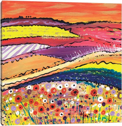 Fields Of Gold Canvas Art Print