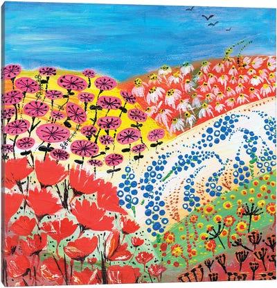 Flower Fusion Canvas Art Print