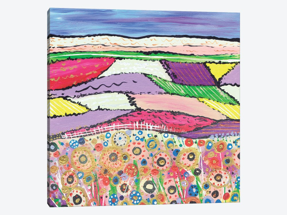 Hazy Sunny Afternoon by Caroline Duncan ART 1-piece Canvas Print