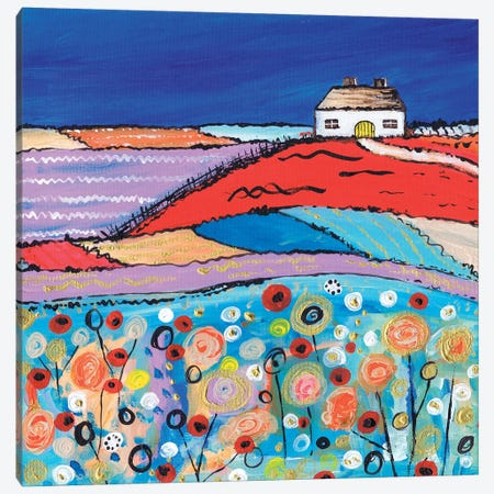 Home Sweet Home 3-Piece Canvas #CDU22} by Caroline Duncan ART Canvas Art Print