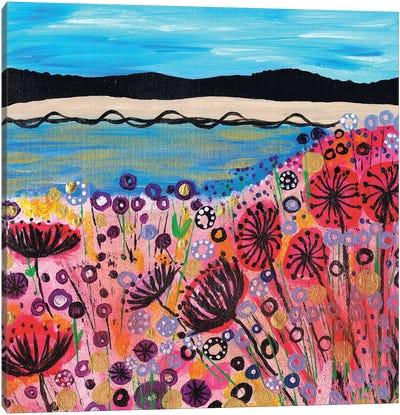Life's A Beach Canvas Art Print