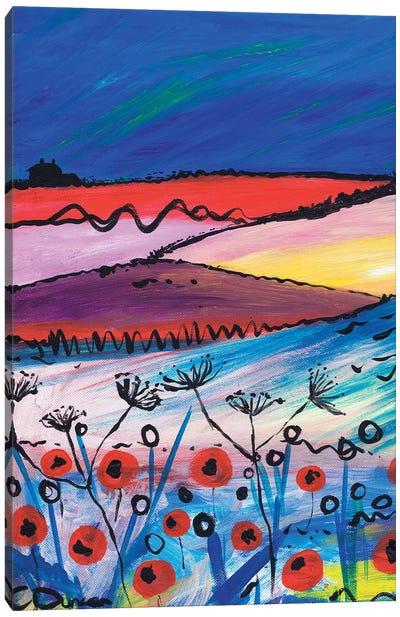 Night Falling Canvas Art Print