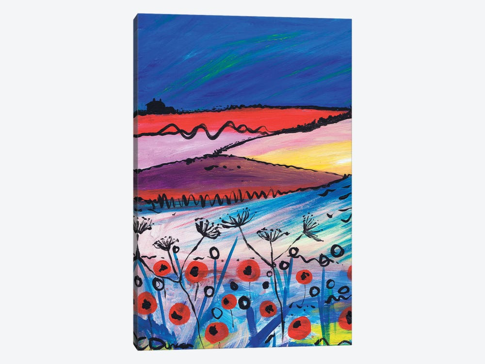Night Falling by Caroline Duncan ART 1-piece Canvas Print